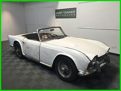 1964 Triumph Other  RHD, FACTORY 4-SPEED WITH OVERDRIVE, WIRE WHEELS, COMPLETE CAR FOR RESTORATION.