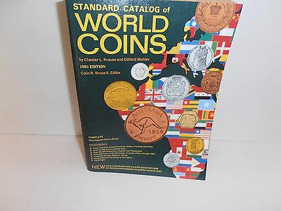 Standard Catalog of World Coins 1981 Edition by Krause & Mishler