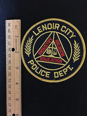 Lenoir City Tennessee  Police  Shoulder Patch
