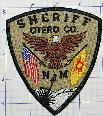 New Mexico, Otero County Sheriff Dept Patch
