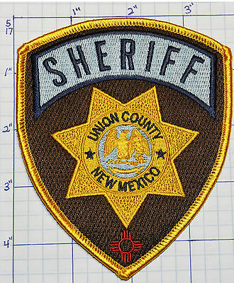 New Mexico, Union County Sheriff Dept Patch