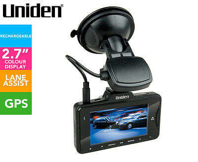 Uniden iGO Cam 755 Dash Cam w/ Speed Camera Warnings - Black
