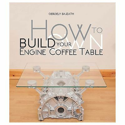 How To Build Your Own Engine Coffee Table Paperback Guide Book / Manual