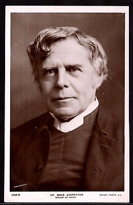 Postcard ~ DR. BOYD CARPENTER Real Photographic BISHOP OF RIPON ~ Early