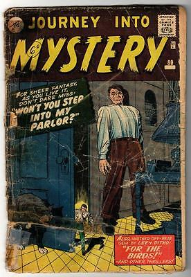 Marvel Comics G- #80 Journey into mystery PROPAGANDA ISSUE STEP PARLOR pre Thor