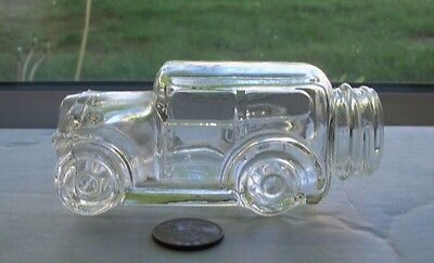 Nice  Vintage Candy Container In The Shape Of A Old Car