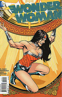 Wonder Woman #52 (NM) `16 Finch/ Mendonca  (Cover A)
