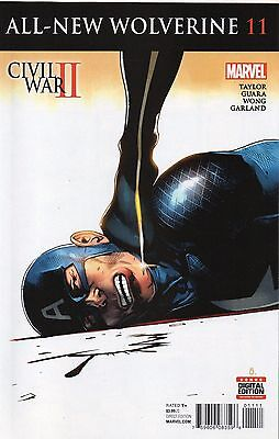 All New Wolverine #11 (NM)`16 Taylor/ Guara