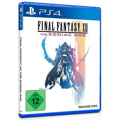 Final Fantasy 12 XII The Zodiac Age Sony PS4 Spiel Playstation 4, NEU&OVP