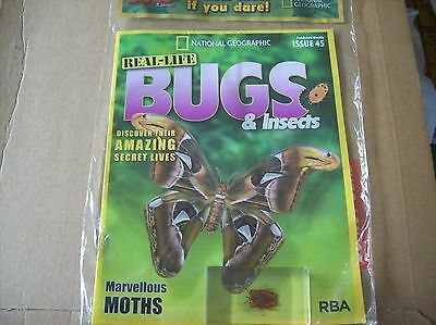 National Geographic Real-life Bugs & Insects magazine Issue 45