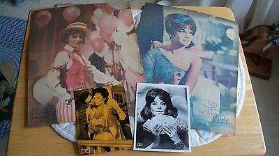 Mixed Lot vintage Natalie Wood movie clippings