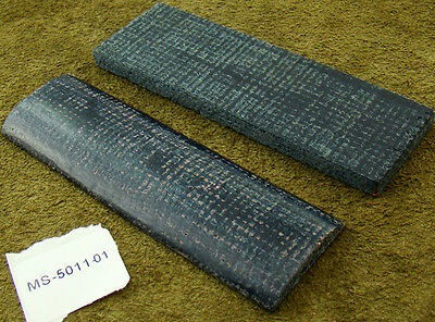 """5"""" Pair of Canvas Micarta Scales Knife Handle Making Blanks Craft (5011"""