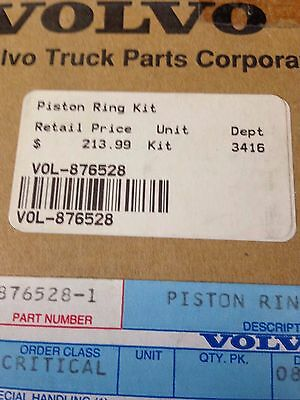 Genuine Volvo Penta Piston Ring Kit 876528