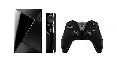 NVIDIA SHIELD TV Console 16GB (2017) Android Gaming TV Box +Controller +Remote