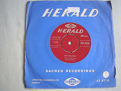 "THE PILGRIMS Heaven's The Place For Me UK 7"" single 1966 ex"