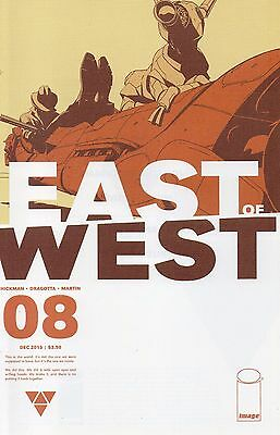 East Of West #8 (NM)`13 Hickman/ Dragotta (1st Print)
