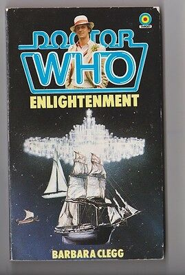 DOCTOR WHO Paperback Book 1984 Enlightenment # 85 Made In Great Britain