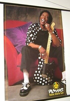 Buddy Guy / Illinois Lottery 2000 Promo Poster 24 x 34 ~ $24.95 VG cond. RARE