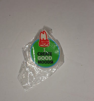 Vintage Collectible Arby's Tack Back Pin   I Create Good Moods