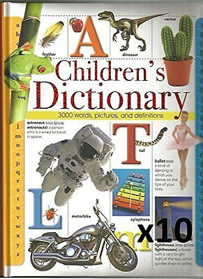 Children's Dictionary: 3000 Words, Pictures and Definitions,