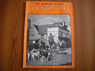 COUNTRY LIFE MAGAZINE - MARCH 24th 1950