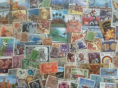 500 Different India Stamp Collection - Post-Independence
