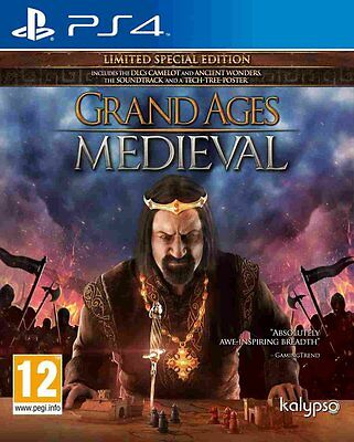 Grand Ages Medieval Limited Special Edition  BRAND NEW PS4 Game