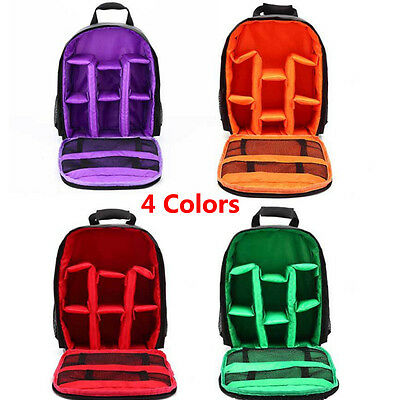 Nylon Waterproof DSLR Camera Backpack Shoulder Bags For Canon For Nikon For Sony