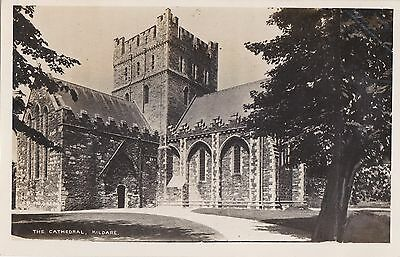 tr irish postcard ireland kildare cathedral