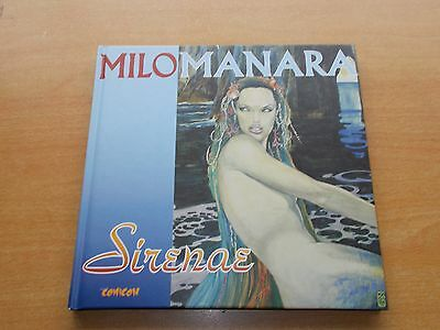 Sirenae by Milo Manara 2002 Hardback English/Italian Text
