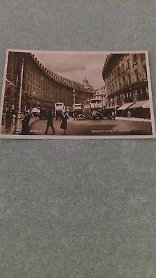 "Ancienne carte postale ""London , regent street"""