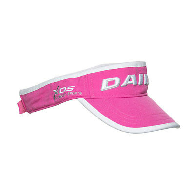 Daily Sports Statement Visor with Adjustable Fit in Pink