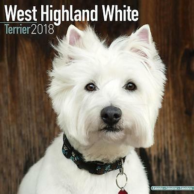 West Highland White Terrier 2018 Calendar 15% OFF MULTI ORDERS!