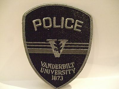 police patch  VANDERBILT UNIVERSITY POLICE TENNESSEE