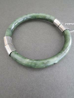 Vintage Chinese Jade Bracelet Bangle