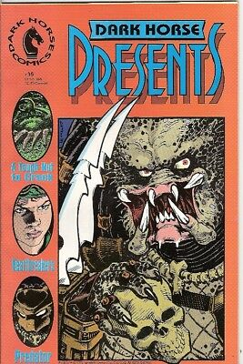 Dark Horse Presents #35 (Aliens/predator Prelude) 1989