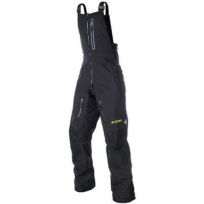 Klim Men's Gore-Tex Non-Insulated Togwotee Snowmobile Bibs Pants - Black