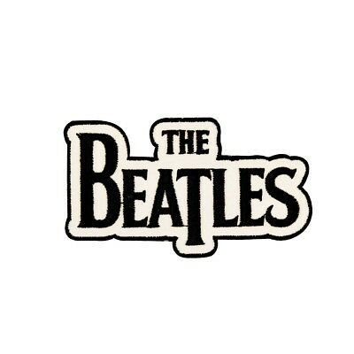"""""""The Beatles"""" Classic Name Logo English Rock Music Band Iron On Applique Patch"""