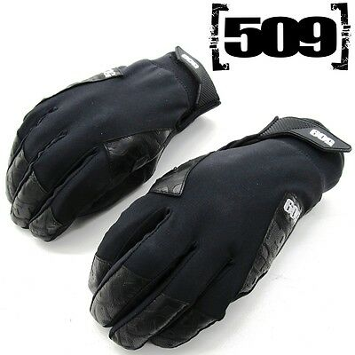 509 Men's Waterproof Thinsulate Insulated Black Freeride Snowmobile Gloves
