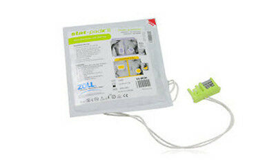 Zoll 8900-0801-01 Electrode Adult Stat Padz II HVP MFE Single pair for AED Plus