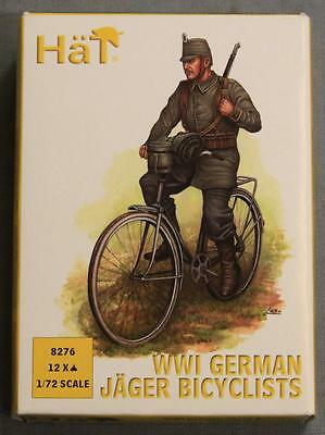 Hat 8276 WWI German Jager Bicyclists Model NOS 1/72 Scale