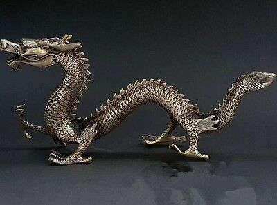 Antique/cupronickel dragon furnishing articles/home decoration collection proces