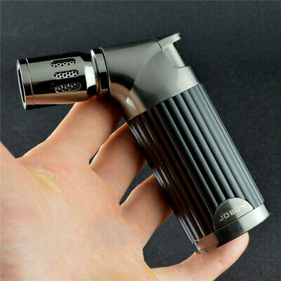 Jobon Quad Jet Flame Cigar Torch Lighter Butane Refillable Cigarette Lighter