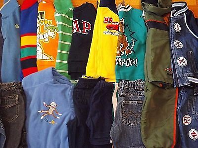 Boys 2T 24M Clothes HUGE LOT(20pc.) T.C.PLACE,OKIE~DOKIE,CIRCO,WRANGLER,GAP,etc.
