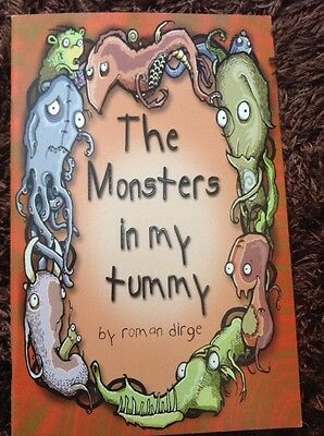 The Monsters In My Tummy SLG Graphic Novel By Roman Dirge (Lenore-Dead Girl)