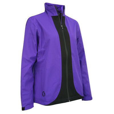 Sunderland Ladies Shaped Waterproof Jacket with Lifetime Guarantee in Purple