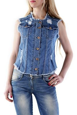 525 VI-D480 Gilet donna - colore Blu IT