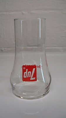Vintage 7UP Upside Down Glass The Uncola