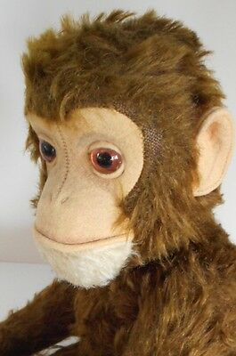 Vintage Yes/No Schuco Tricky Ape Monkey 1950s Mechanical Toy 13 Inches