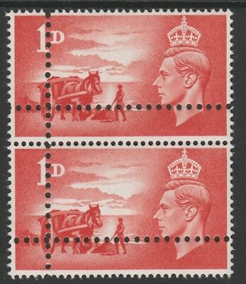 Great Britain   4745 - 1948 LIBERATION of CHANNEL ISLANDS 1d DOUBLE PERFS pair